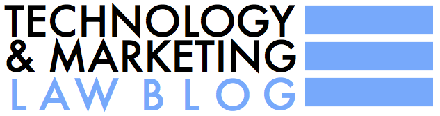 Technology & Marketing Law Blog