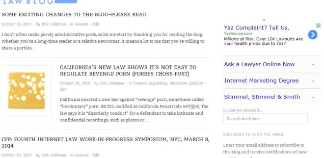 Check Out the New Blog Design!
