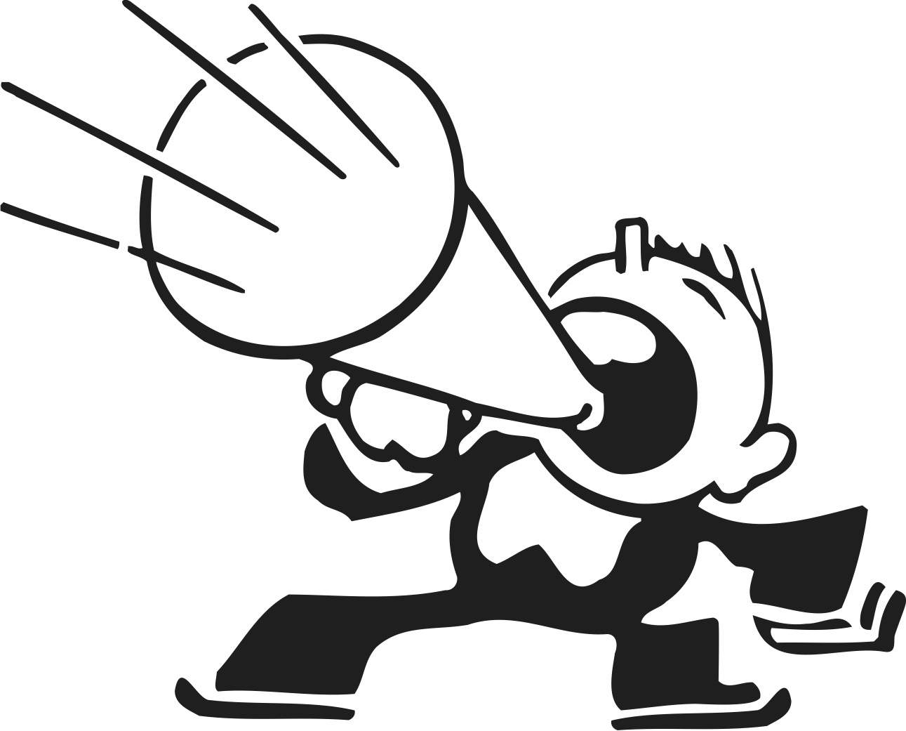 clipart man with megaphone - photo #5