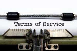 Photo credit: Terms of Service // ShutterStock