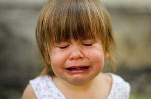 Speaking of babies, why are trademark owners such babies when it comes to competitive keyword ads? Photo credit: Little child crying // ShutterStock