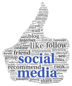 Photo credit: Social media concept in thumb up symbol // ShutterStock