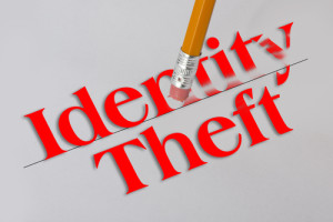 Photo Credit: Identity theft concept with pencil eraser // ShutterStock