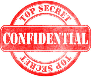 Photo credit: Stamp of Confidential - top secret // ShutterStock
