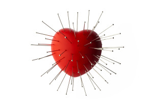 "Shutterstock / Visual Cortex - ""heart with straight pin"""