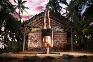 The ruling didn't quite turn standing law on its head. Photo credit: Yoga niralamba shirshasana, head stand pose without hands // ShutterStock