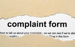 """shutterstock - alexkopje - """"complaint form"""""""