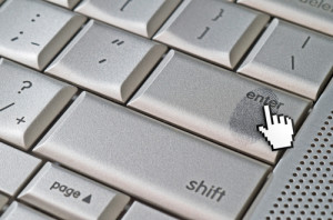 Photo credit: Fingerprint left on keyboard hack concept // ShutterStock
