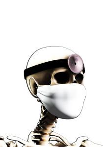 Shutterstock / Chris Harvey - skeleton doctor