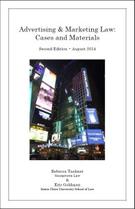 advertising book cover 2014