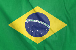Photo credit: Fabric Flag of Brazil // ShutterStock