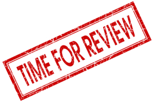 Photo credit: Time for Review Stamp // ShutterStock