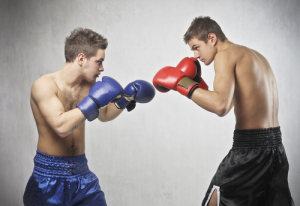 Unlike boxing matches, I prefer my 512(c) cases to be first-round knockouts (for the defense). Photo credit: Two young boxers facing each other in a match // ShutterStock
