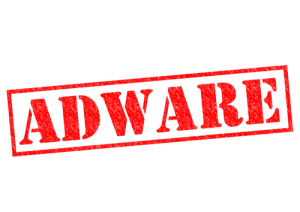 """Photo credit: """"ADWARE red Rubber Stamp over a white background"""" // ShutterStock"""
