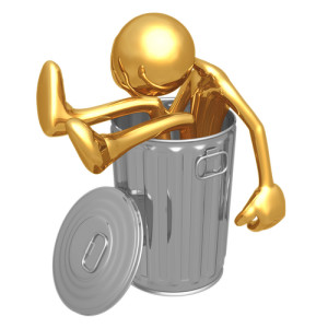 Photo Credit: In the Garbage Can // ShutterStock