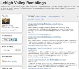 lehigh valley ramblings