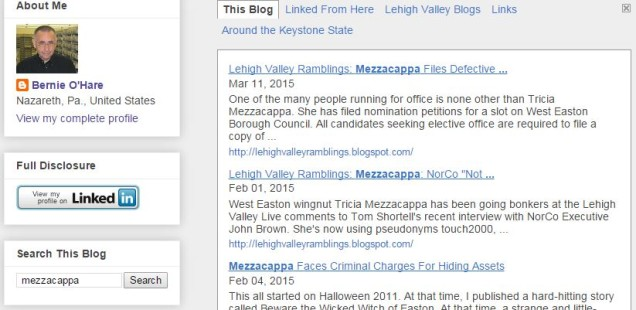 Blogger Isn't Liable For Anonymous Reader Comments--Mezzacappa v. O'Hare
