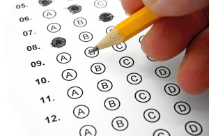 Photo credit: Filling out Answers on a Multiple Choice Test // ShutterStock