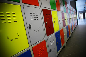 Shutterstock / Alexandru Nika - Color Shot of Some Lockers in a High School