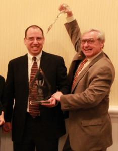 Taken at the 2011 IP Institute's IP Vanguard Awards ceremony