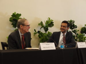 Judge Ronald Whyte and Paul Grewal