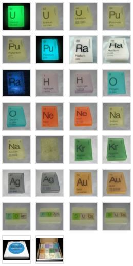 Bubble Genius Periodic Table Soaps