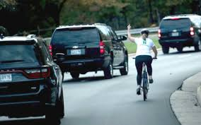 The woman photographed giving the finger to Trump's motorcade was also fired from her job. Could she get unemployment benefits too?