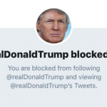 President Trump Violated the First Amendment by Blocking Users @realdonaldtrump