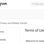 Instagram's TOS Authorizes Third-Party Embedding of Photos--Sinclair v. Mashable