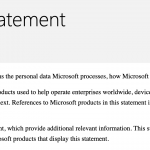 '365 for Business' Users' Privacy Lawsuit Dismissed--Russo v. Microsoft
